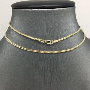"Jewelry - 10K Yellow Gold Chain 22"""